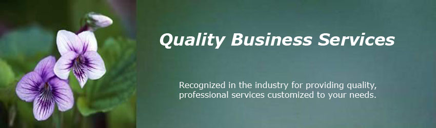 Quality Business Services Masthead